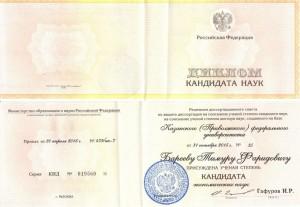 Бареев Тимур Фаридович, Кандидат экономических наук, Декстра Аудит